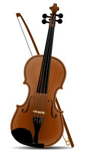 A fit violin, or fiddle.