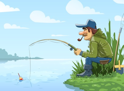 Fishing, give a man a fish.